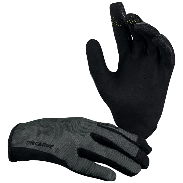 Carve gloves black camo