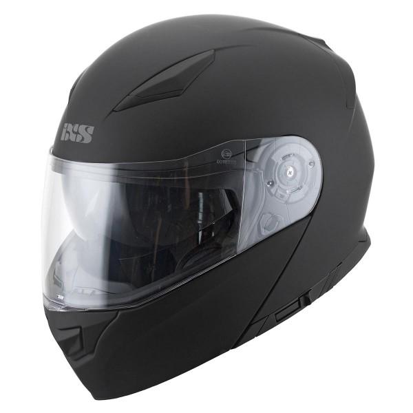Flip-Up helmet 300 1.0 black mat-black
