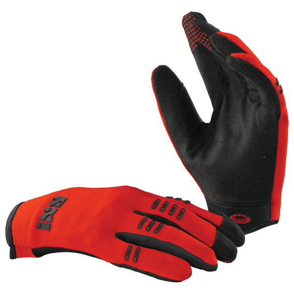 BC-X3.1 «Kids» gloves fluo red