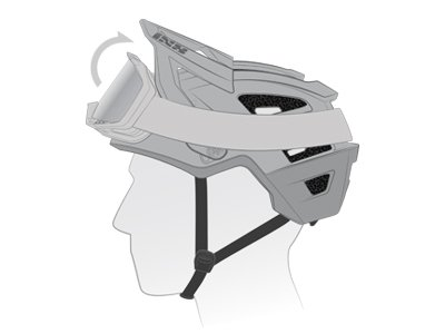 iXS 3-Level Visor adjustment
