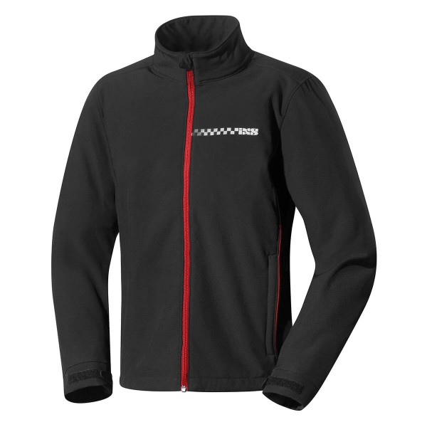 Softshell jacket Nelson black-red