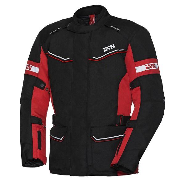Jacke Tour Evans ST Damen schwarz-rot