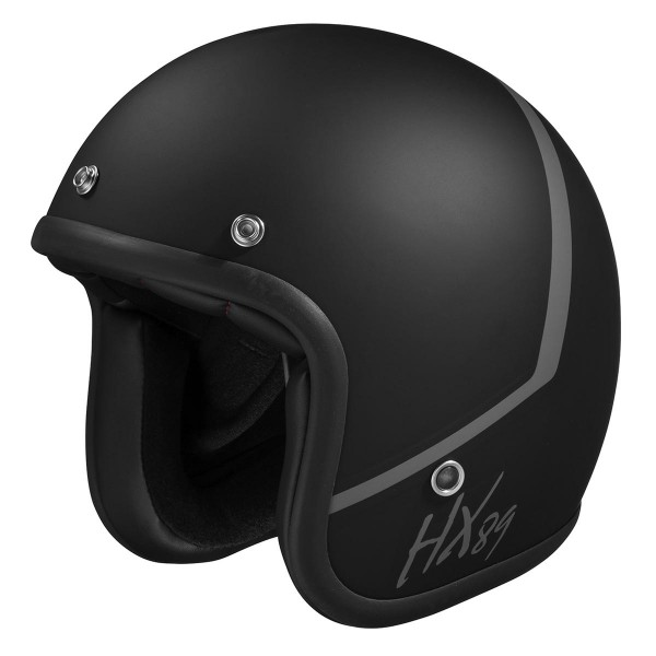 Jet helmet 89 2.0 black mat-grey
