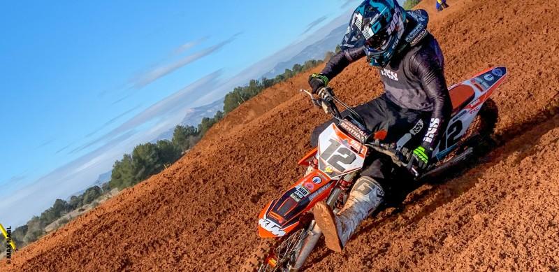 RS Motocross MX1 Kids Enduro Goggles Moto X Black White Childrens New