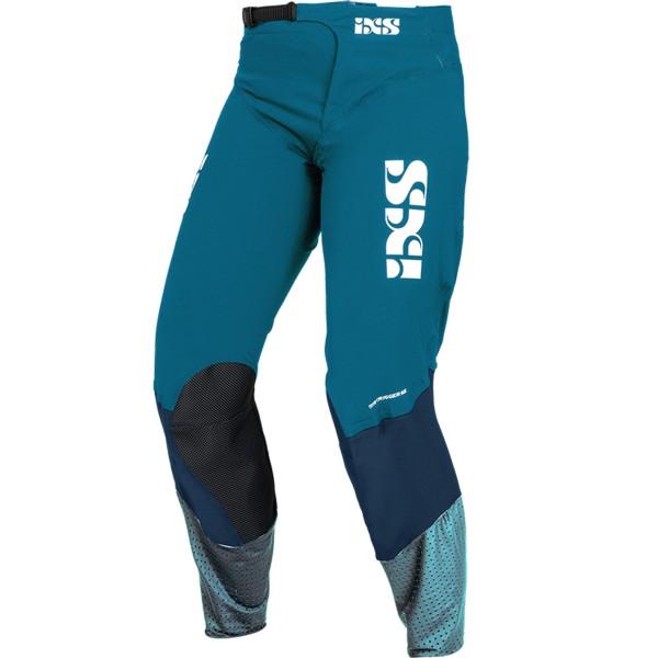 Trigger MX Pants dunkelblau-türkis