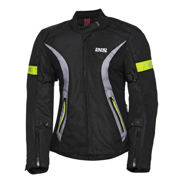 Jacket Sport women 5/8 ST black-grey-yellow