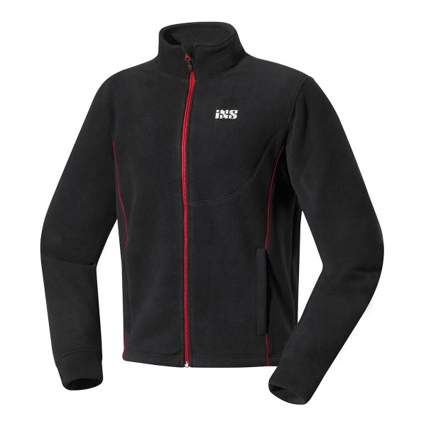 Polar fleece jacket Barker black
