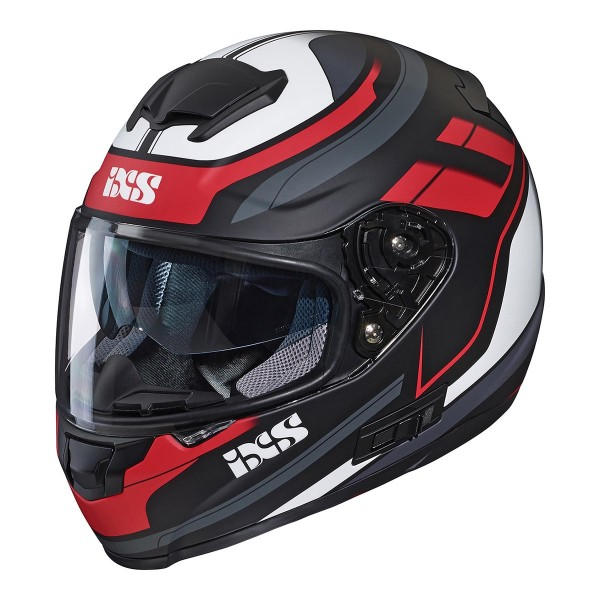 Integral helmet 215 2.0 black mat-red-white