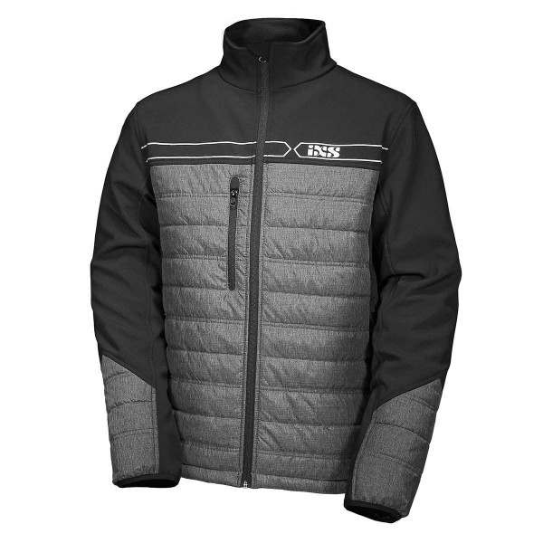 Jacket Softshell Team grey-black