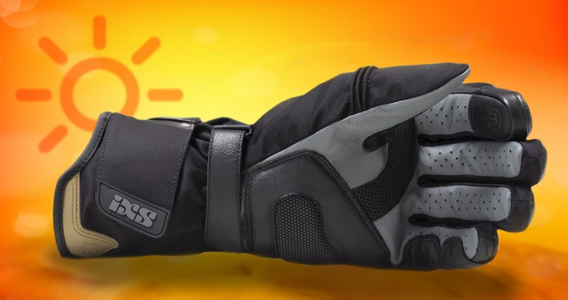 IXS Glove BALIN moderno XS nero