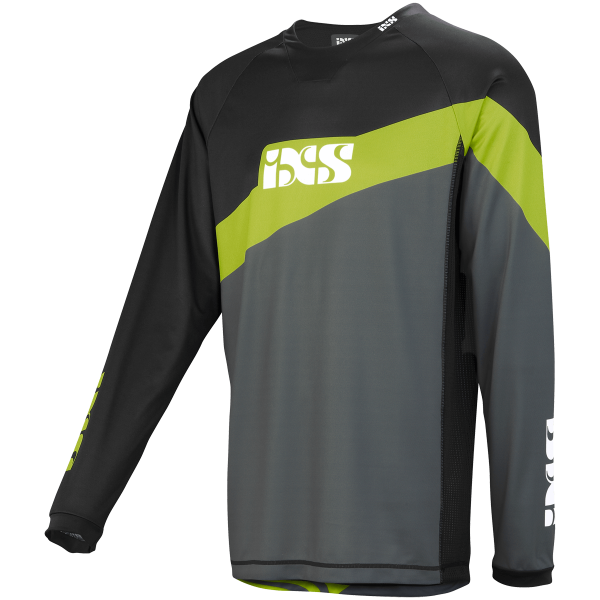 Race Jersey graphit-lime