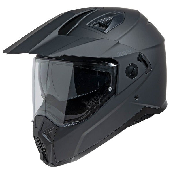 Enduro Helmet iXS 208 1.0, black matt