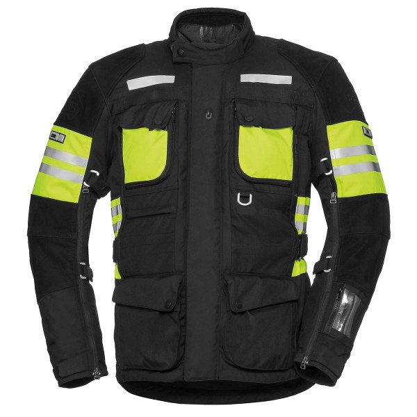 Jacket Tour LT Montevideo-ST black-yellow fluo