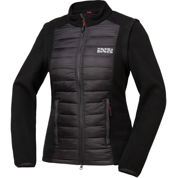 Team Damen Jacke Zip-Off schwarz