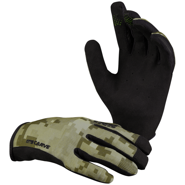 Carve gloves camel camo