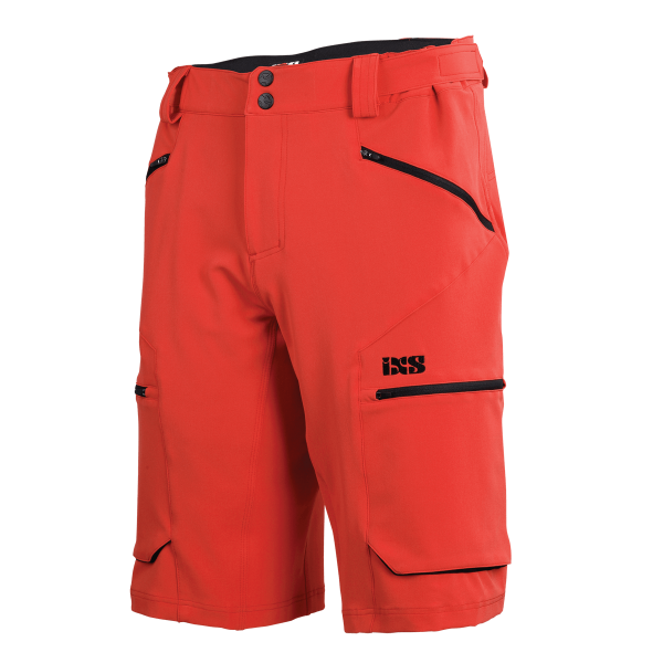 Tema Shorts fluo red