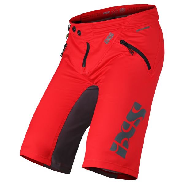 Trigger shorts red-graphite