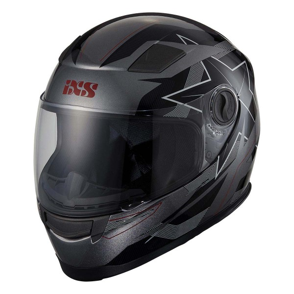 Integral helmet 135 KID 2.0 grey-black-red