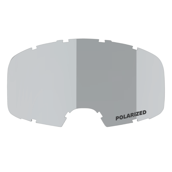 Polarized lens silver mirror