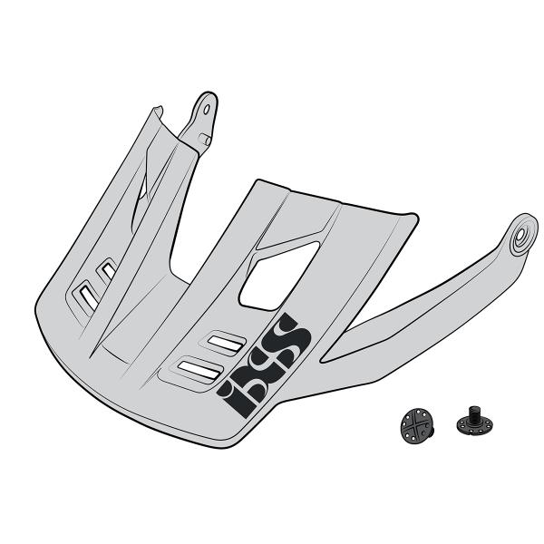 Visier + Pins Trigger FF weiss