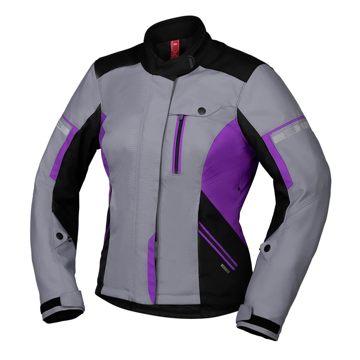 Jacke Tour Damen Finja ST 2.0 schwarz grau violett