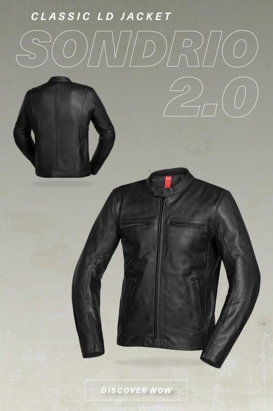 IXS Classic So Jacket Moto Black S